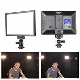 SUPON L122T الصمام مصباح على ضوء الفيديو كاميرا التصوير إضاءة الاستوديو 3300 ~ 5600 كيلو للصور كاميرا DSLR كاميرا مصغرة DVR