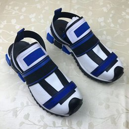 Koreans new sandals online shopping - 2019 new Korean version of the wild simple retro students Harajuku style ulzzang Roman shoes sandals for men and women v0803214