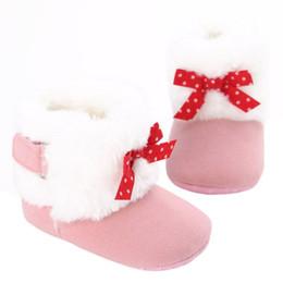 $enCountryForm.capitalKeyWord Australia - Winter Super Warm Newborn Girl Baby Prewalker Shoes Boots Infant Toddler Princess Crib Snow Booty Baby Moccasins Shoes