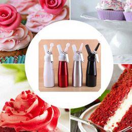 Wholesale 500 ML Stainless Steel Foamer Metal Whip Coffee, Dessert, Fresh Cream, Butter, Dispenser Whipper Foam Maker ZZA1492