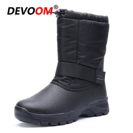 Camp Shoes For Men Australia - Mountain Non-slip Waterproof Hunting Boots Winter Outdoor Tactical Sport Men's Shoes For Camping Climbing Boots Men Hiking