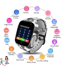 $enCountryForm.capitalKeyWord Australia - Smart Watch Kids Colorful Screen GPS WIFI SOS one-click Call Location 600 Mah Anti Lost Monitor Child smartwatch