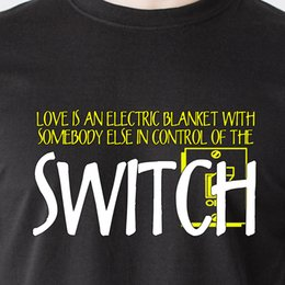 Discount electric beige - Love is an electric blanket with somebody else in control 69 retro Funny T-Shirt Funny free shipping Unisex Casual Tshir