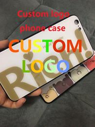 Custom Printed Iphone Cases Australia - Custom Design DIY Logo Photo Hard Phone Case For 7 7 Plus x xr xs max Customized Printed Back Cover