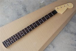 fender basses UK - Diy Rosewood Fingerboard Jazz Bass Guitar Neck ,Can Offer Many Kinds Of Electric Guitar And Bass Neck