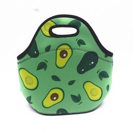 Cute Canvas Handbags Australia - Wholesale Cute Lunch Handbag Portable Thermal Insulated Cooler Waterproof Lunch Picnic Tote Storage Carry Bag High Quality Canvas Tote