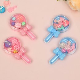 baby snack box 2020 - Plastic Mini Lollipop Candy Boxes Snack Biscuits Holder Wedding Baby Shower Birthday Party Dessert Gift Package Boxes di