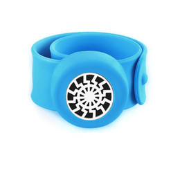$enCountryForm.capitalKeyWord UK - Sun Charm Bracelet Kid Jewelry Silicone Slap Bracelets Essential Oils Diffuser Wristband Anti-Mosquito Bracelets & Bangles For Kids