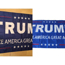 3x5 donald trump flags NZ - Donald Trump 3x5 Foot Flag 2016 Make America Great Again Donald For President Usa Free Shipping Election Flag 90*150 Cm 1colors