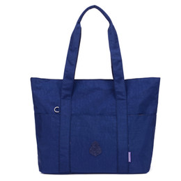 Nylon Totes Bags Australia - Women Messenger Bags Waterproof Handbag Nylon Tote Fashion Crossbody Bags For Women Top-handle Shoulder Purse Travel Bag