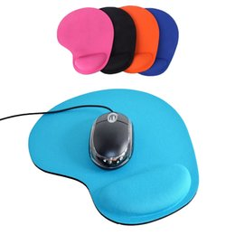c69ace6dd17 Soft Mouse Pad With Wrist Rest Support Mat For Gaming PC Laptop Mac Muismat Mouse  Support Tapete de rato Computer Accessories