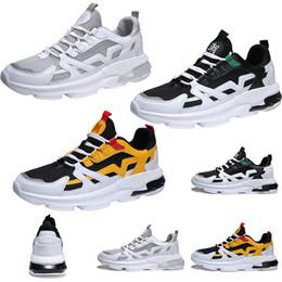 Cheap wrestling shoes online shopping - Cheap Non Brand Mens Womens Athletic Shoes White Black Green Yellow Fashion Sports Shoes Breathble Walking Jojjing Shoes