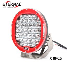 led tractor headlights UK - 8pc 96W ARB LED driving headlight work lamp for off road 4x4 Wrangler KIA Sorento SUV trucks tractor machine excavtor pick ups