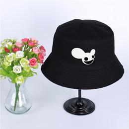 e9c4d52ec1c Deadmau5 Logo Summer Hat Women Mens Panama Bucket Hat Deadmau5 logo Design  Flat Sun Visor Fishing Fisherman Hat