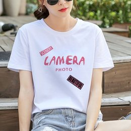 $enCountryForm.capitalKeyWord Australia - Amazon Express Direct Selling Large Size Loose Short Sleeve T-shirt Round-collar Cotton Women's Clothes in 2019