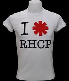 Vintage Band T Shirts Australia - Hip hop RHCP Vintage Retro Logo Men T-Shirt Punk RoArrive Music Band S