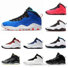 mens sports trainers Australia - Hot Sale Tinker 10 Orlando Mens Basketball Shoes 10 10S Cement I m back Chicago bobcats Racer Blue Sports trainers sneakers Size 7-13