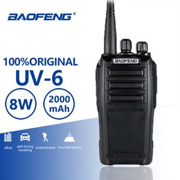Wholesale Baofeng UV New Arrival w Channels Walkie Talkie High Power Long Standby UHF VHF Dual Band Two Way Radio Woki Toki KM