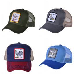 Men cocks online shopping - Summer Mesh Cloth Ventilation Baseball Cap Cock Animal Embroidery Snapback Men And Women Fashion Hats Hot Sale yt I1