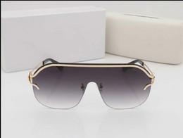 cf7ffead17d3 Discount mens rimless eyeglasses frames - 2019 NEW SUNGLASSES MENS WOMENS  DARK GLASSES Frames Mens Womens