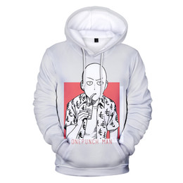 um soco venda por atacado-Hot Anime um soco Man Season D Imprimir Hoodies Boys Girls capuz manga comprida Pullovers Harajuku streetwear do estilo Clothes