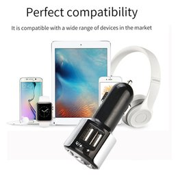 $enCountryForm.capitalKeyWord Australia - Bluetooth FM Transmitter AUX Handsfree DE Car Charger MP3 Player USB Fast Charging Flash Drive Chargers Wireless Adapters 6.7 Y2