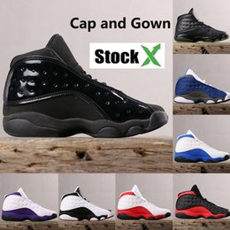 Mens arMy caps online shopping - 2019 New hot cap and gown s men basketball shoes bred cool grey flint He Got Game playoff mens top quality sneakers