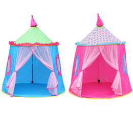 Boy Toy House UK - Cute Kids Tent Toy Prince Playhouse Toddler Play House Castle Children Boys Girls for Indoor Outdoor Toys Foldable Tents