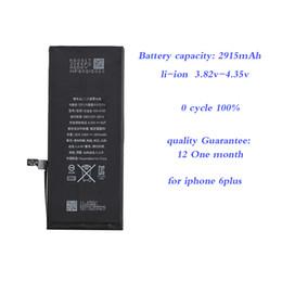 $enCountryForm.capitalKeyWord Australia - maibusi batteryies for apple iphone 6plus 6s plus 7plus 8 8plus x cell phone battery 100% Original Gift sticker polymer li-ion high capacity