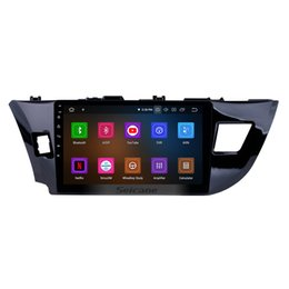 Tuner Android UK - 8-core 10.1 Inch Android 9.0 Car Radio for 2014 Toyota Levin with GPS navigation USB AUX support DVR TPMS Backup Camera OBD2 SWC Car DVD