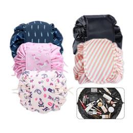 $enCountryForm.capitalKeyWord Australia - Magic Travel Makeup Bag Organizer Storage Portable Beauty Drawstring Travel Makeup Bag Organizer Storage Jewelery Cosmetic