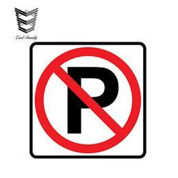 $enCountryForm.capitalKeyWord NZ - wholesale 20pcs lot Car Styling NO PARKING Stickers Vinyl Decal Warning Violation Towing Car Sign Waterproof Car Sticker 13cm X 13cm
