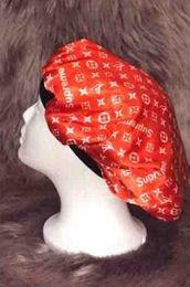 $enCountryForm.capitalKeyWord Australia - Designer Durag Muslim Women Stretch Sleep Turban Hat Scarf Silky Bonnet Chemo Beanies Caps Cancer Headwear Head Wrap Hair Accessories Free