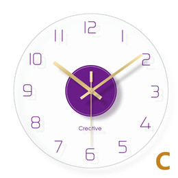 $enCountryForm.capitalKeyWord NZ - Simple Number Decorative Wall Clock Transparent Glass Digital Clocks Living Room Quart 3d Clock Modern Design Home Decor