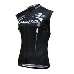 China 2019 team bike Aqua Blue  KUOTA men cycling jersey summer Sleeveless bike vests breathable quick dry road bicycle clothing Y062701 supplier kuota bicycles suppliers