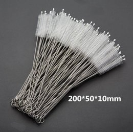 Household Cleaning Household Cleaning Tools 2017 10pcs Stainless Steel Nylon Straw Cleaning Brush Drinking Pipe Tube Cleaner Baby Bottle Clean Tools Discounts Price