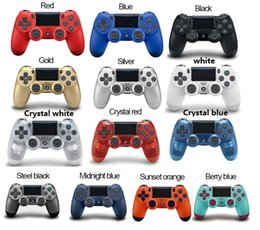 $enCountryForm.capitalKeyWord Australia - 14 colors luetooth Wireless PS4 Controller for PS4 Vibration Joystick Gamepad PS4 Game Controller for Sony Play Station With box Packaging