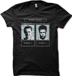 Fighting Australia - Fight Club Tyler Durden Character selection game t-shirt 9129 Funny free shipping Tshirt top
