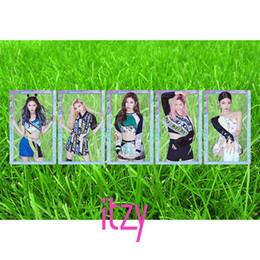 $enCountryForm.capitalKeyWord Australia - ITZY Members PVC Clear Photo Card Yuna Ryujin IT'z ICY HD Photocard Chaeryong Lia Yeji Collective Cards Fancy Cards