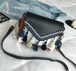 $enCountryForm.capitalKeyWord Australia - 19Factory wholesale fashion new handbag cross pattern synthetic leather shell chain bag shoulder Messenger bag Fashionista