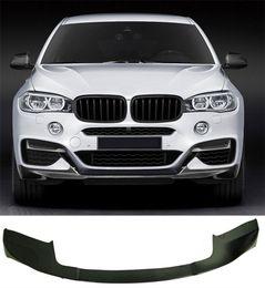 $enCountryForm.capitalKeyWord Australia - Car surrounded Carbon Fiber Front Lip Spoiler Splitter F16 X6 M-S Fit For BMW B269