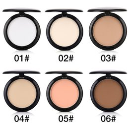 $enCountryForm.capitalKeyWord Australia - Stock Face Press Powder Matte Highlighter Bronzer Blush Sleek Mineral Translucent Setting Foundation Makeup Contour Compact Kit with Puff