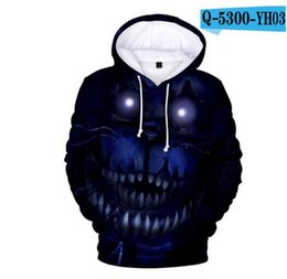 $enCountryForm.capitalKeyWord NZ - New Autumn 3D Print Five Nights At Freddys Sweatshirt For Boys Girl Hoodies FNAF Baby Costume For Teen Sport Long Sleeve Tshirts