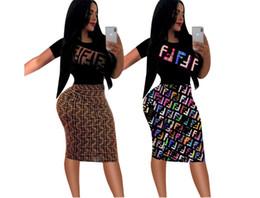 Ingrosso abito di design estate Abiti moda donna abiti stampati sexy vestito aderente abito estivo casual per abiti da donna