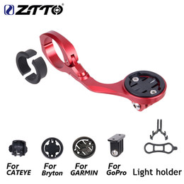 $enCountryForm.capitalKeyWord Australia - ZTTO MTB BIKE GPS Go Pro Sports Out-front Mount For Garmin Cat Eye Bryton Bicycle Computer Camera Light Holder All In One