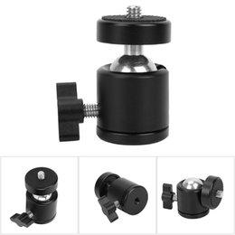 ADAI Mini Stativ Kugelkopfhalterung Ständer 360 Grad Drehadapter für Kamera-Handy