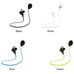 $enCountryForm.capitalKeyWord Australia - Cheap Portable Neckband Noise Cancelling Stereo Headset Sport In Ear Earphone Earbuds Running QY7 wireless bluetooth 4.1 headphones