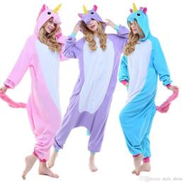 d02834ca7f1e Unisex Kigurumi Cosplay Costume Onesie Australia - Plus2019 Unisex Adult  Animal Onesie Cosplay Anime Costume Unicorn
