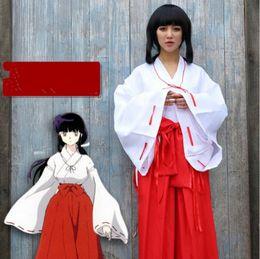 $enCountryForm.capitalKeyWord Australia - Wholesale-Hot Sale Halloween Costumes for Women cosplay costume Japanese red kimono yukata kimono dress cos lolita witch suit