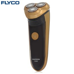 razor for shaving electric rechargeable Australia - FLYCO Electric Shaver Shaving Machine For Men Rechargeable Barbeador Electric Shaver Razor Beard Trimmer with 3 Floating Heads FS360 BB